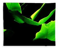 Green Energy Fleece Blanket