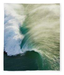 Green Envelope Fleece Blanket