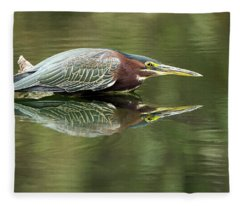 Green Heron 6313-113017-2cr Fleece Blanket