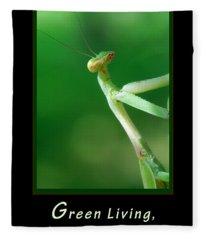 Green Living Fleece Blanket