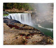Green River Falls Fleece Blanket