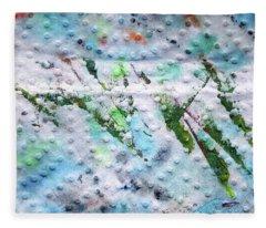 Green Strike Fleece Blanket