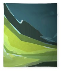 Green Valley Fleece Blanket