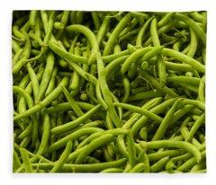Greenbeans Fleece Blanket