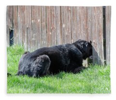 Greener Grass Fleece Blanket
