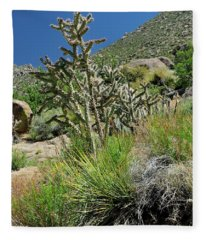 Greening Of The High Desert Fleece Blanket