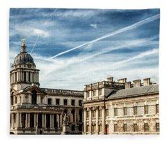 Greenwich University Fleece Blanket