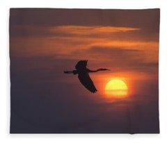 Greet The Morning Fleece Blanket