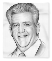 Gregory Jbara Fleece Blanket