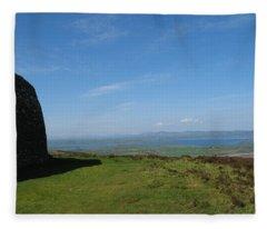 Grianan Of Aileach Fleece Blanket