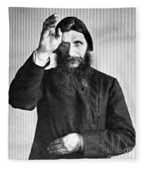 Grigori Rasputin, Russian Mystic Fleece Blanket