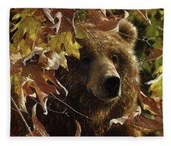 Grizzly Bear - Legend Of The Fall Fleece Blanket