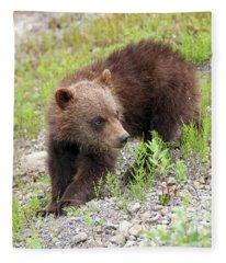 Grizzly Cub II Fleece Blanket