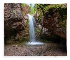 Grotto Falls Fleece Blanket