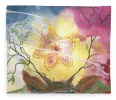 Grounded Star Shine Fleece Blanket