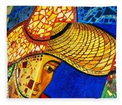 Growing Edgewater Mosaic Fleece Blanket