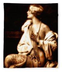 Grunge Goddess Fleece Blanket