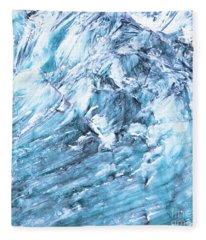 Tocllaraju Fleece Blanket