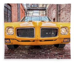 Gto - Pontiac Muscle Fleece Blanket