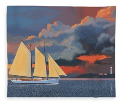 Storm Schooner Fleece Blanket