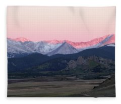 Guanella Sunrise Fleece Blanket