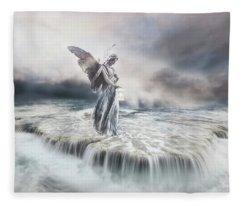 Guardian Angel Fleece Blanket