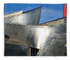 Guggenheim Museum Bilbao - 5 Fleece Blanket