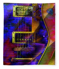 Guitars Fleece Blanket