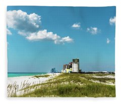 Gulf Shores Al Beach Seascape 1610a Fleece Blanket