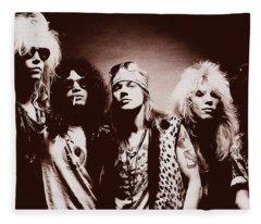 Guns N' Roses - Band Portrait 02 Fleece Blanket