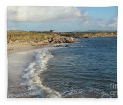 Gurteen Beach 2 Fleece Blanket
