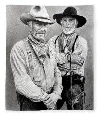 Gus And Woodrow Fleece Blanket