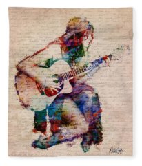 Gypsy Serenade Fleece Blanket