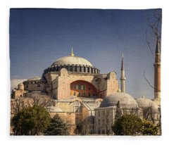 Hagia Sophia Fleece Blanket