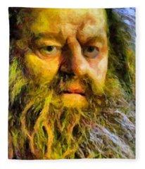 Hagrid Fleece Blanket