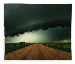 Hail Shaft Fleece Blanket