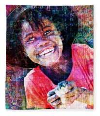Haitian Daughter Fleece Blanket