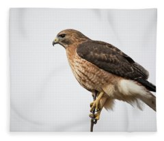Hal The Hybrid Portrait 2 Fleece Blanket