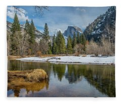 Half Dome Vista Fleece Blanket
