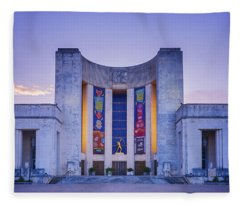 Hall Of State Texas Fleece Blanket