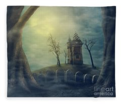 Halloween  Fleece Blanket