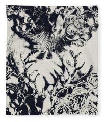 Halls Of Horned Art Fleece Blanket