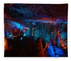 Halls Of The Mountain King 1 Fleece Blanket