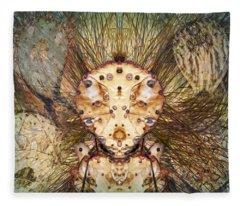Hallucina-jim Fleece Blanket