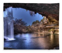 Hamilton Pool Fleece Blanket