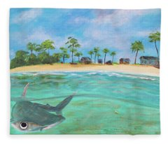 Hammerhead Bay Fleece Blanket