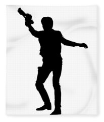 Han Solo Star Wars Tee Fleece Blanket