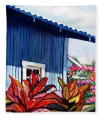 Hanapepe Town Fleece Blanket