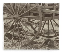 Handcart Fleece Blanket