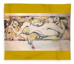 Hands Of Angels 2 Fleece Blanket